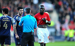 Famara Diedhiou of Bristol City - Mandatory by-line: Nizaam Jones/JMP - 18/01/2020 - FOOTBALL - Ashton Gate - Bristol, England - Bristol City v Barnsley - Sky Bet Championship