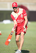 Dale Steyn during the Royal Challengers Bangalore training session held at Kingsmead Stadium in Durban on the 23 September 2010..Photo by: Steve Haag/SPORTZPICS/CLT20.