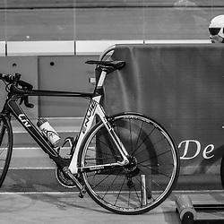28-12-2014: Wielrennen: NK Baanwielrennen: Apeldoorn<br />Wachtend voor de start van haar wedstrijd Kirsten Wild
