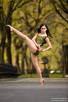 Dance As Art The New York City Photography Project Central Park Series with dancer Maddie Pineda