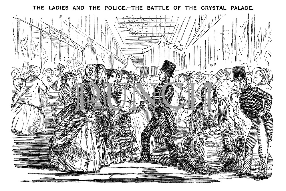 The Ladies and the Police. - The Battle of the Crystal Palace.