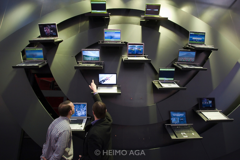 CeBit in Hannover/Lower Saxony is the the world's biggest annual IT fair..Laptop heaven.