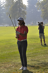 October 14, 2017 - Monza, Italy - Tommy Fleetwood of England on Day three of the Italian Open at Golf Club Milano  (Credit Image: © Gaetano Piazzolla/Pacific Press via ZUMA Wire)