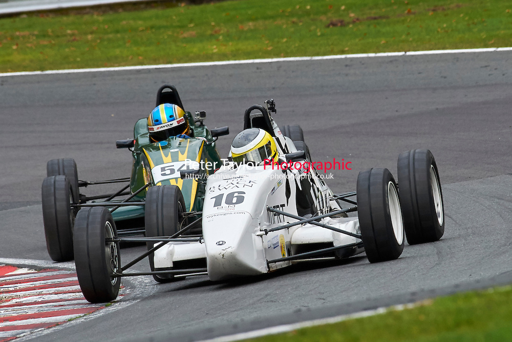 #16 David McArthur Van Diemen LA10 during Avon Tyres Formula Ford 1600 Northern Championship - Prost 89 Race 2 as part of the BRSCC Fun Cup Oulton Park 17th October 2015 at Oulton Park, Little Budworth, Cheshire, United Kingdom. October 17 2015. World Copyright Taylor/PSP. Copy of publication required for printed pictures.  Every used picture is fee-liable. http://archive.petertaylor-photographic.co.uk