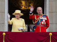 """TROOPING THE COLOUR_Duke of Edinburgh Makes 1st Appearance since being hospitalised.The event marks the Queen's Official Birthday, The Mall, London_16th May 2012.Photo Credit: ©Reynolds/Newspix International..**ALL FEES PAYABLE TO: """"NEWSPIX INTERNATIONAL""""**..PHOTO CREDIT MANDATORY!!: NEWSPIX INTERNATIONAL..IMMEDIATE CONFIRMATION OF USAGE REQUIRED:.Newspix International, 31 Chinnery Hill, Bishop's Stortford, ENGLAND CM23 3PS.Tel:+441279 324672  ; Fax: +441279656877.Mobile:  0777568 1153.e-mail: info@newspixinternational.co.uk"""
