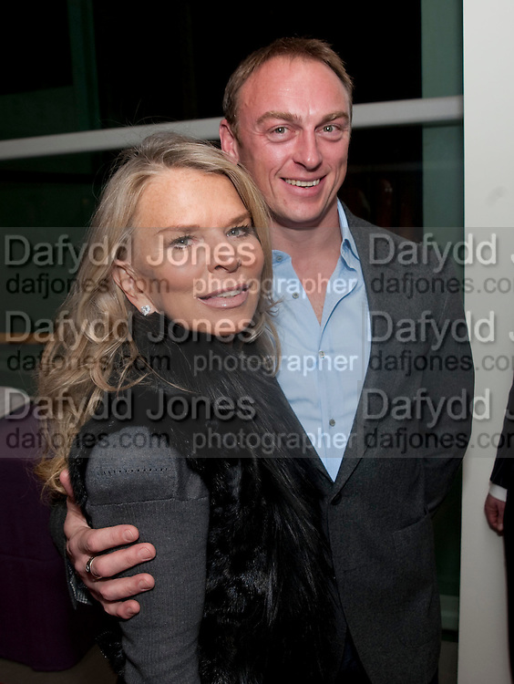 """LADY TINA GREEN; TONY LEWIS, Launch party for a very large limited Edition of  """"The History of the Saatchi Gallery """"edited by Booth Clibborn and published by Kraken Opus. Saatchi Gallery,  The Kings Road. London. 26 November 2009"""