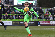 Forest Green Rovers George Williams(11) during the EFL Sky Bet League 2 match between Forest Green Rovers and Yeovil Town at the New Lawn, Forest Green, United Kingdom on 16 February 2019.