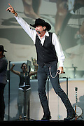 "Photos of Brooks and Dunn on their farewell tour, ""The Last Rodeo,"" photographed in St. Louis on August 7, 2010."