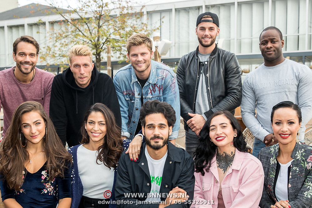 NLD/Amsterdam/20171026 - Perspresentatie Into the Waves 2017, Nochtli Peralta Alvarez, Touriya Haoud, Sonja Silva, Christina Curry, Kay Nambiar, Donny Roelvink, Christina Curry, Tim Douwsma, Joshua Nolet en Miro Kloosterman