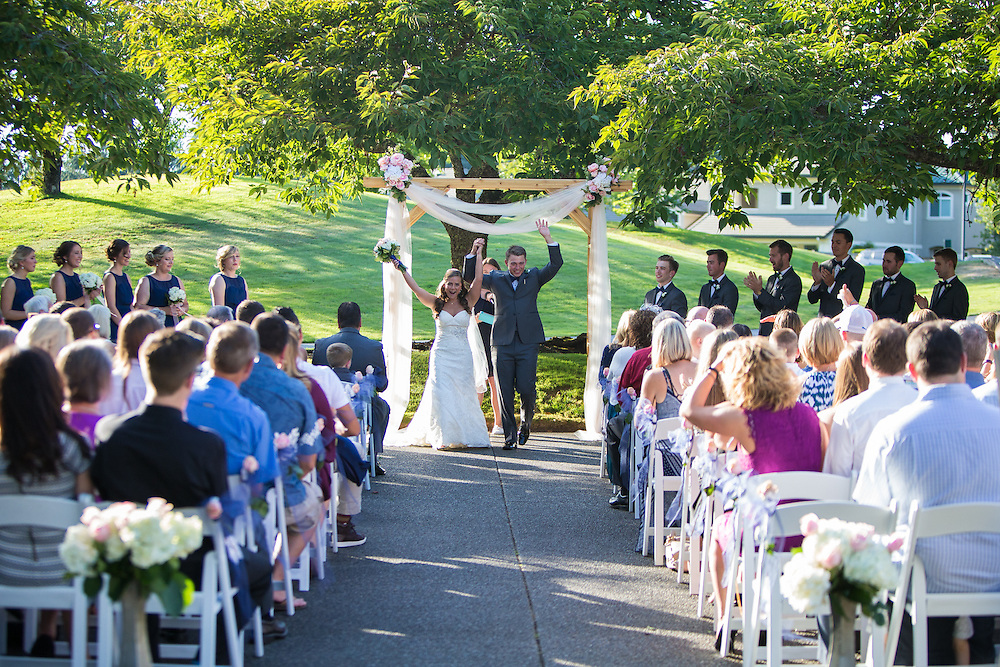 Kai & Kelsie wedding day at Indian Summer Country Club.