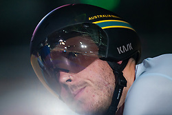 February 8, 2019 - Melbourne, VIC, U.S. - MELBOURNE, VIC - FEBRUARY 08: Tom Clarke of Australia watches on prior to his Sprint Race at The Six Day Cycling Series on February 08, 2019 at Melbourne Arena, VIC. (Photo by Speed Media/Icon Sportswire) (Credit Image: © Speed Media/Icon SMI via ZUMA Press)