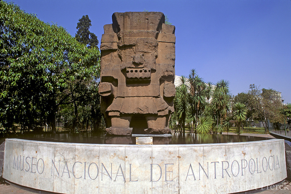 MEXICO, MEXICO CITY, LANDMARKS National Museum of Anthropology, Tlaloc