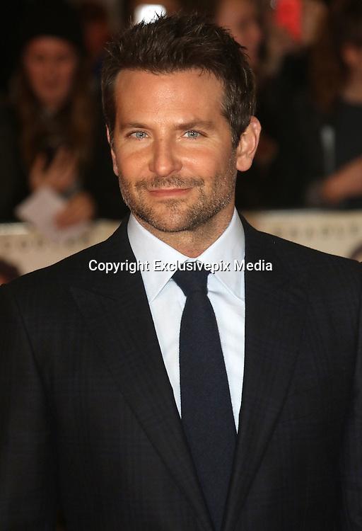 October 28, 2015 -Bradley Cooper attending 'Burnt' European Premiere at Vue West End, Leicester Square in London, UK.<br /> <br /> ©Exclusivepix Media