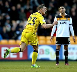 Billy Bodin of Bristol Rovers celebrates scoring a goal to make it 1-1 - Mandatory by-line: Robbie Stephenson/JMP - 18/02/2017 - FOOTBALL - Vale Park - Stoke-on-Trent, England - Port Vale v Bristol Rovers - Sky Bet League One