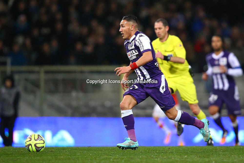 Adrien Regattin - 05.12.2014 - Toulouse / Monaco - 17eme journee de Ligue 1 -<br />Photo : Manuel Blondeau / Icon Sport