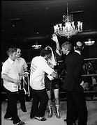 Nash vs Leon Championship Fight.    (N55)..1980..14.12.1980..12.14.1980..14th December 1980..At the Burlington Hotel, Dublin, Charlie Nash defended his European Lightweight Title when he took on Spain's Francesco Leon.