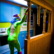 Dr. Rockso in the Adult Swim Fun House.