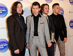 Mercury Prize. <br /> Arctic Monkeys attends the Barclaycard Mercury Prize at The Roundhouse, London, United Kingdom. Wednesday, 30th October 2013. Picture by i-Images