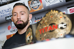 Uros Jurisic at press conference of  MMA Fihgter - Uros Jurisic, on July 13, 2018 in Jungle Gym, Ljubljana, Slovenia. Photo by Urban Urbanc / Sportida