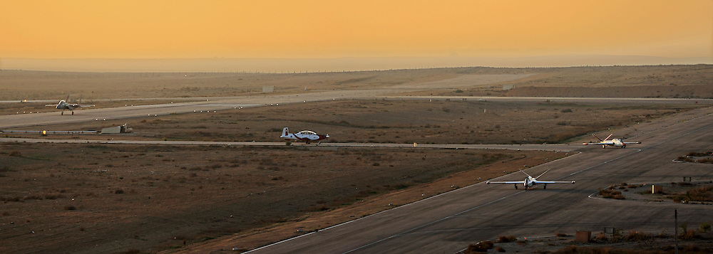 Israel, Israeli air force airfield planes ready for takeoff