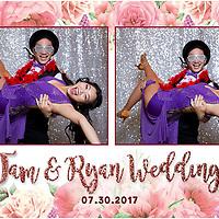 Tam & Ryan Wedding PhotoBooth
