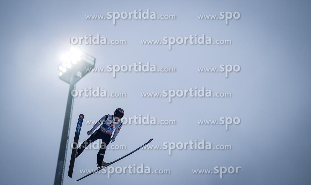 06.01.2013, Paul Ausserleitner Schanze, Bischofshofen, AUT, FIS Ski Sprung Weltcup, 61. Vierschanzentournee, Training, im Bild Anders Fannemel (NOR) // Anders Fannemel of Norway during practice Jump of 61th Four Hills Tournament of FIS Ski Jumping World Cup at the Paul Ausserleitner Schanze, Bischofshofen, Austria on 2013/01/06. EXPA Pictures © 2012, PhotoCredit: EXPA/ Juergen Feichter