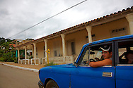 Street in La Palma, Pinar del Rio, Cuba.