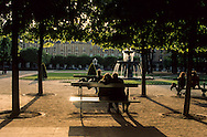 Paris. France. Le marais. 4th district. place des Vosges paris