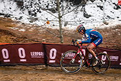 Nikki BRAMMEIER of GBR during the Women Elite race, UCI Cyclo-cross World Championship at Bieles, Luxembourg, 28 January 2017. Photo by Pim Nijland / PelotonPhotos.com | All photos usage must carry mandatory copyright credit (Peloton Photos | Pim Nijland)