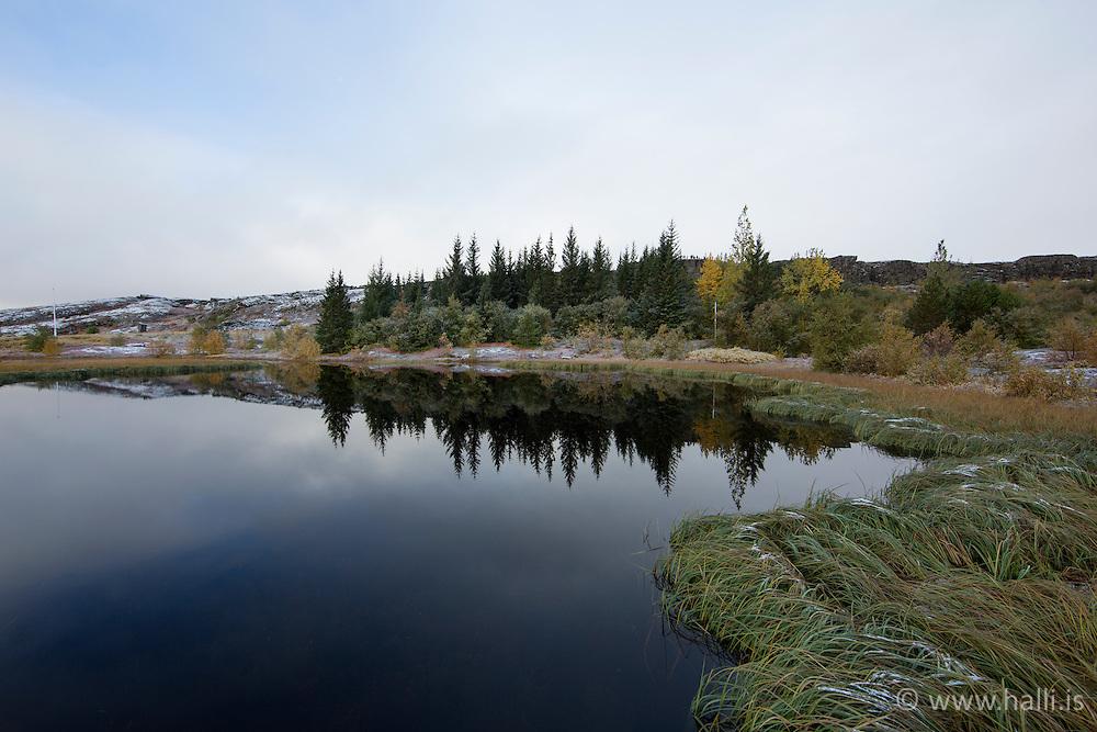 Autumn at Thingvellir, Iceland - Haust á Þingvöllum