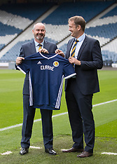 Steve Clarke unveiling as new Scotland National Team Head Coach - 21 May 2019