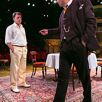 For Services Rendered by Somerset Maugham;<br /> Directed by Howard Davies;<br /> Anthony Calf (as Wilfred Cedar);<br /> Sam Callis (as Howard Bartlett);<br /> Minerva, Chichester Festival Theatre, Chichester, UK,<br /> 5 August 2015
