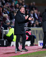 Football - 2019 / 2020 William Hill Scottish Cup - Quarter-Final: Heart of Midlothian vs. Rangers<br /> <br /> Hearts Manager Daniel Stendel, at Tynecastle Park, Edinburgh.<br /> <br /> COLORSPORT/BRUCE WHITE