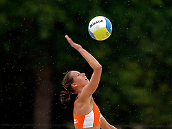 27-07-2005: BEACHVOLLEYBAL: SWATCH WORLD TOUR: PARIJS<br /> <br /> Rebekka Kadijk en Merel Mooren wonnen hun eerste wedstrijd overtuigend met 2-0 (21-16, 21-17) van Gerlic-Clarke AUS [20].<br /> <br /> ©2005-WWW.FOTOHOOGENDOORN.NL