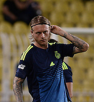 Friendly match between Fenerbahce (TUR) and Panathinaikos (GRE) at Ulker Stadium in Istanbul on July  13 , 2016.<br /> Final Scored: Fenerbahce 2 - Panathinaikos 1<br /> Pictured: Simon Kjaer of Fenerbahce.