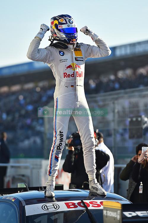 DTM Meister 2016 Marco Wittmann (BMW Team RMG)  beim DTM Saisonfinale in Hockenheim<br /> <br />  / 161016<br /> <br /> ***German Touring Car Championship in Hockenheim, Germany, October 16, 2016 ***