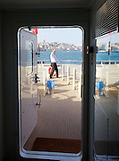 Turkey, Istanbul, boat trip on the Bosphorus
