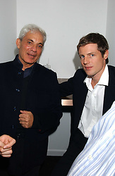 Left to right, SIMON RUBIN and ZAC GOLDSMITH at the opening party for a new bowling alley All Star Lanes, at Victoria House, Bloomsbury Place, London on 19th January 2006.<br /><br />NON EXCLUSIVE - WORLD RIGHTS