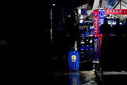 A concession sells merchandise to fans prior to kick off - Mandatory by-line: Ryan Hiscott/JMP - 10/12/2019 - FOOTBALL - Stamford Bridge - London, England - Chelsea v Lille - UEFA Champions League group stage