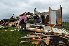 Tornado Rips Through Kansas - 29 May 2019