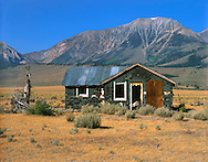 An Abandoned Homestead Along The Eastern Flank Of The Sierra Nevada Mountain Range, California