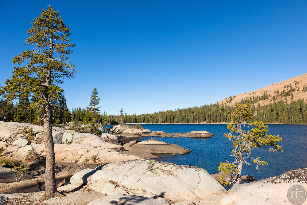 """White Rock Lake 4"" - Photograph of the Tahoe backcountry lake called White Rock Lake."