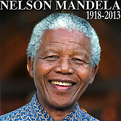 NELSON ROLIHLAHLA MANDELA (July 18, 1918 - December 5, 2013), 95, world renown civil rights activist and world leader. Mandela emerged from prison to become the first black President of South Africa in 1994. As a symbol of peacemaking, he won the 1993 Nobel Peace Prize. Joined his countries anti-apartheid movement in his 20s and then the ANC (African National Congress) in 1942. For next 20 years, he directed a campaign of peaceful, non-violent defiance against the South African government and its racist policies and for his efforts was incarcerated for 27 years. Remained strong and faithful to his cause, thru out his life, of a world of peace. Transforming the world, to make it a better place. PICTURED: Oct. 20, 1996 - Cape Town, South Africa - South Africa's President NELSON MANDELA, 78, on the steps of Genadenal. (Credit Image: © Sasa Kralj/JiwaFoto/ZUMAPRESS.com)