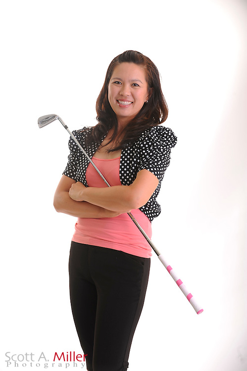 Tiffany Tavee during a portrait shoot prior to the Symetra Tour's Florida's Natural Charity Classic at the Lake Region Yacht and Country Club on March 20, 2012 in Winter Haven, Fla. ..©2012 Scott A. Miller.