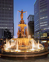 Tyler Davidson Fountain Cincinnati Ohio