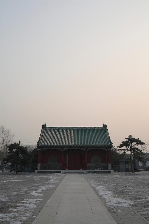 Le pavillon sud du temple Pudusi.