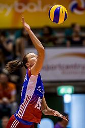 23-08-2017 NED: World Qualifications Czech Republic - Bulgaria, Rotterdam<br /> Petra Kojdova #19 of Czech Republic