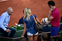 Supportrice Sexy / Short   - 27.05.2015 - Jour 4 - Roland Garros 2015<br />Photo : Dave Winter / Icon Sport
