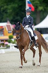 Auffarth Sandra, (GER), Opgun Louvo   <br /> Dressage - CIC3* Luhmuhlen 2016<br /> © Hippo Foto - Jon Stroud<br /> 17/06/16