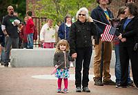 Laconia Memorial Day parade and Veteran's Square service.  Karen Bobotas for the Laconia Daily Sun